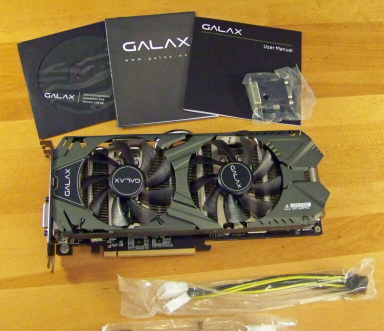 Unboxing the GALAX GTX 970 EXOC