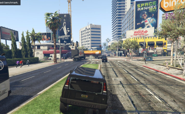 GTA V PC Performance & IQ evaluation