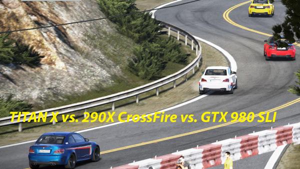 TITAN X vs. 290X CrossFire vs. GTX 980 SLI