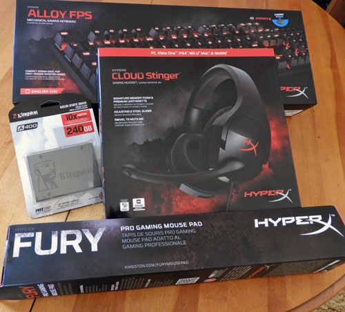 Spring into BTR's Contest and Enter to Win a Kingston/HyperX Prize Package