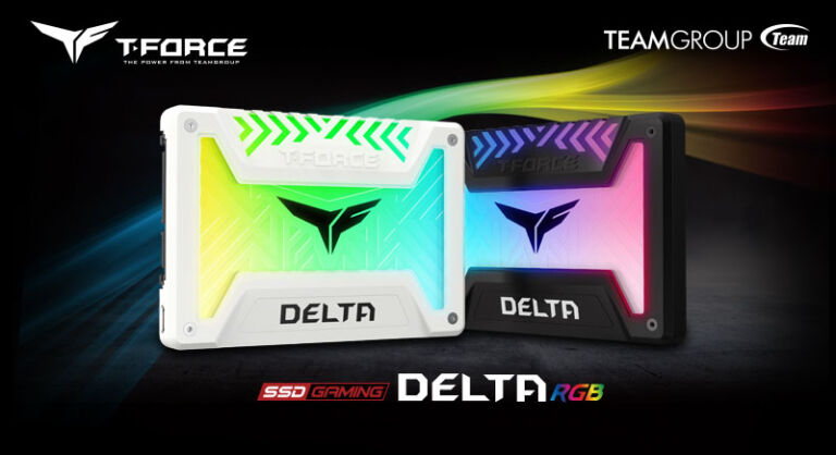 TEAMGROUP Releases T-FORCE DELTA RGB SSDs