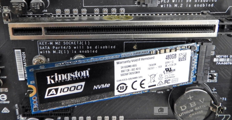 The Kingston A1000 480 GB NVMe SSD Review