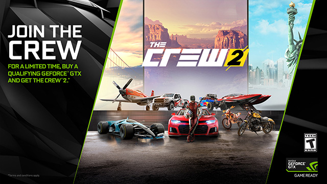 New WHQL 398.36 Game Ready Driver for The Crew 2