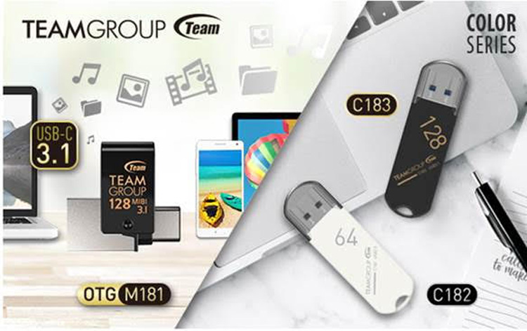TEAMGROUP Launches Minimalist Style USB Flash Drives
