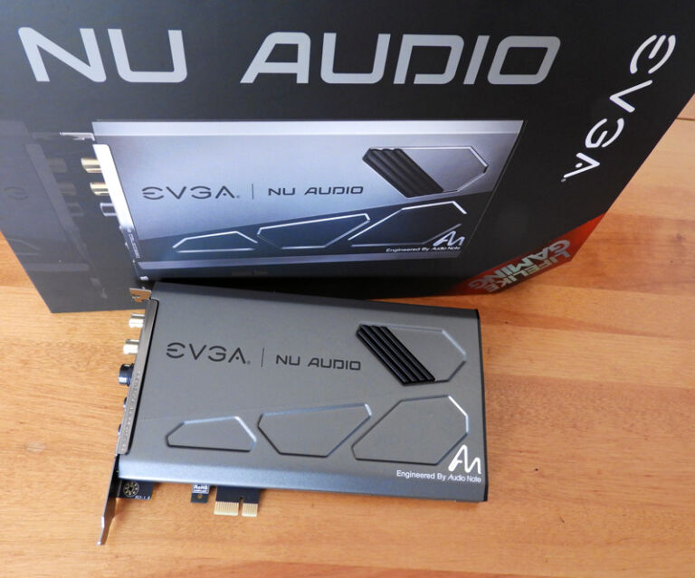 EVGA's Nu Audio Brings Entry-Level Audiophile Sound to the PC