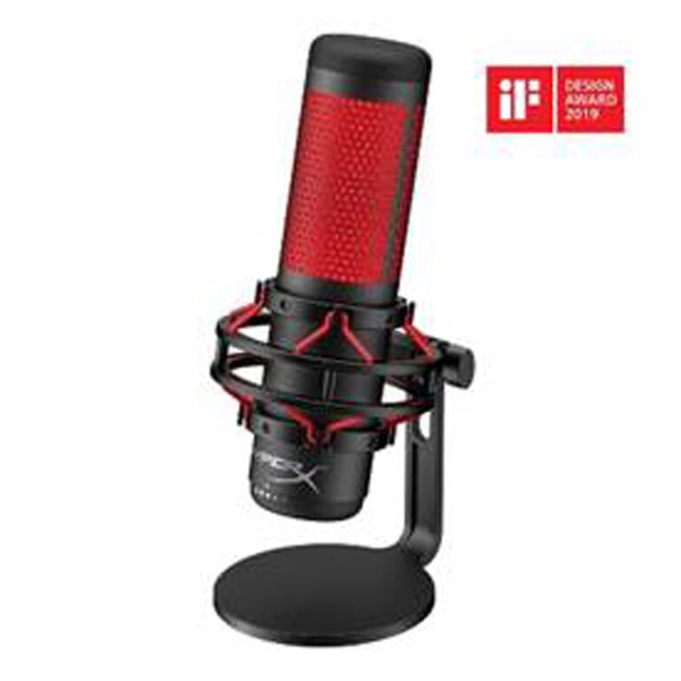 HyperX Announces QuadCast Microphone for Streamers and Casters