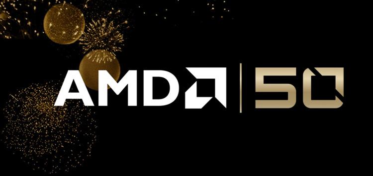 AMD Celebrates 50th Anniversary
