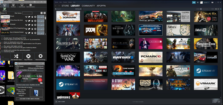 CPUCores Review with 20 Steam Games – Does it Maximize Your FPS?