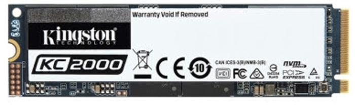 Kingston Introduces Next-Gen KC2000 NVMe PCIe SSD
