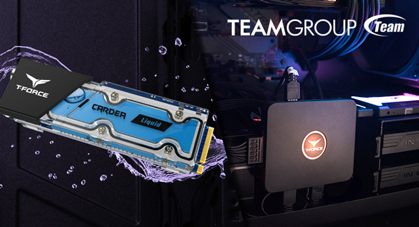 TEAMGROUP Releases T-FORCE CARDEA Liquid M.2 SSD & CAPTAIN RGB Control Box