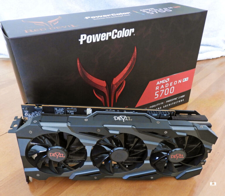 The PowerColor Red Devil RX 5700 takes on the RTX 2060/SUPER