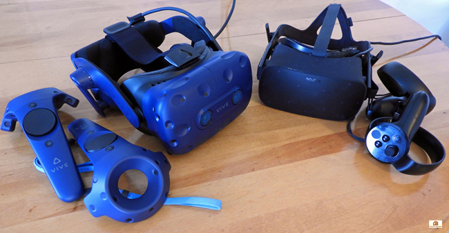 VR Wars: The Vive Pro vs. the Oculus Rift – Cross-platform Performance – the RX 5700 XT vs. the 2060/2070 Supers