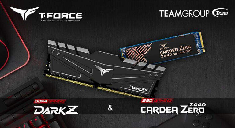 T-FORCE Releases Gaming Memory and PCI-E Gen4 x4 M.2 SSD for AMD RYZEN 3000 Processor & X570