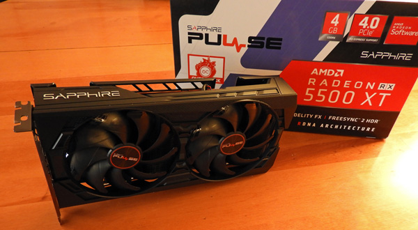 The Sapphire Pulse RX 5500 XT 4GB Benchmarked with 46 games vs. the RX 570/590 & the GTX 1660