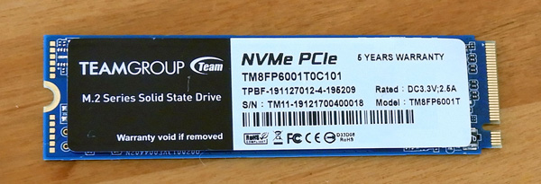 The Team Group MP33 M.2 2280 PCIe 1TB SSD Review