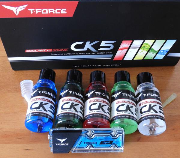 The T-FORCE CK-5 Liquid Coolant Kit Review