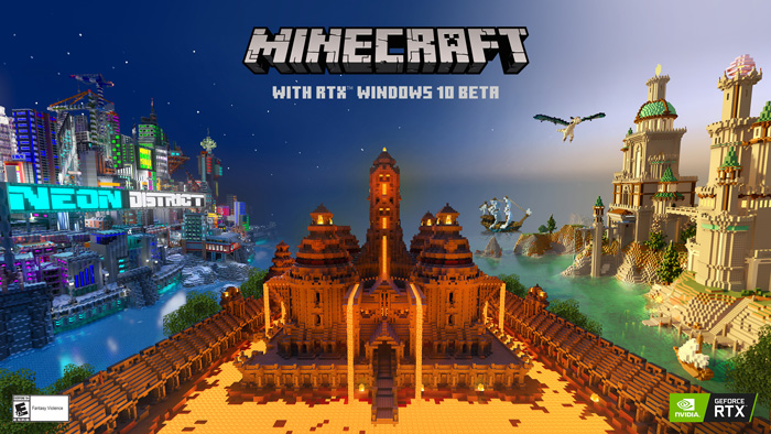 Minecraft – RTX On the Way! – New GeForce 445.87 Driver Available Now