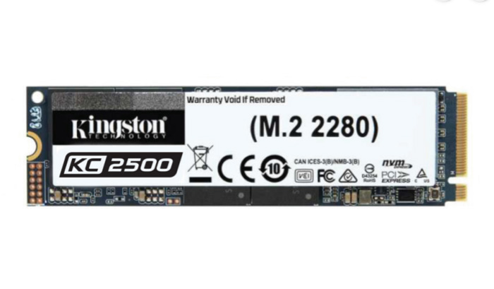 Kingston Releases Next-Gen KC2500 NVMe PCIe SSD