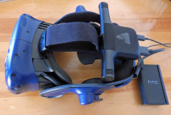 Measuring the Vive Pro Wireless Adapter's Latency with FCAT-VR