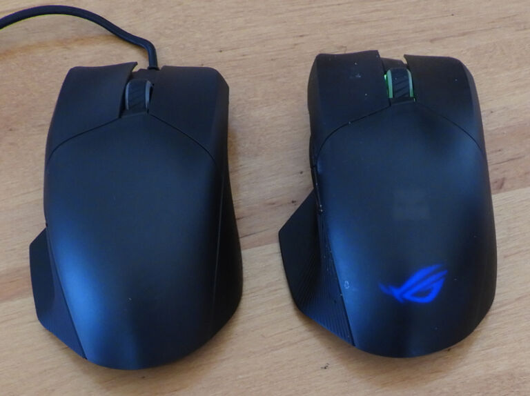 ASUS ROG Wireless Chakram & Core Mouse review – a Tale of Two Mice