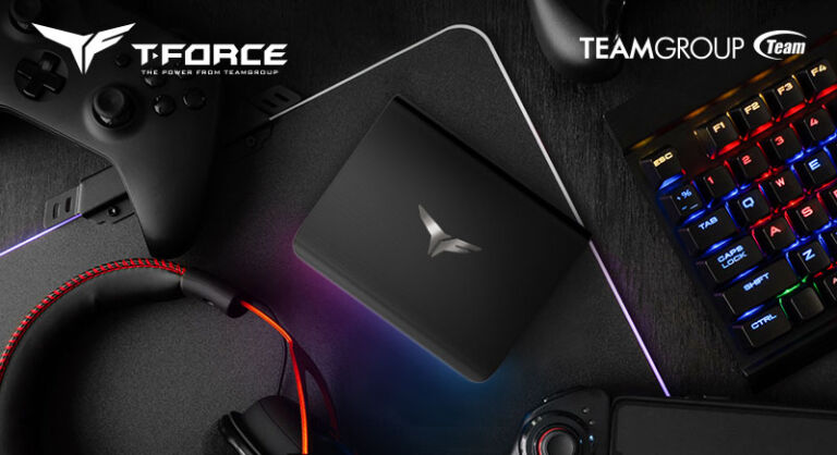 TEAMGROUP Launches T-FORCE TREASURE Touch External RGB SSD