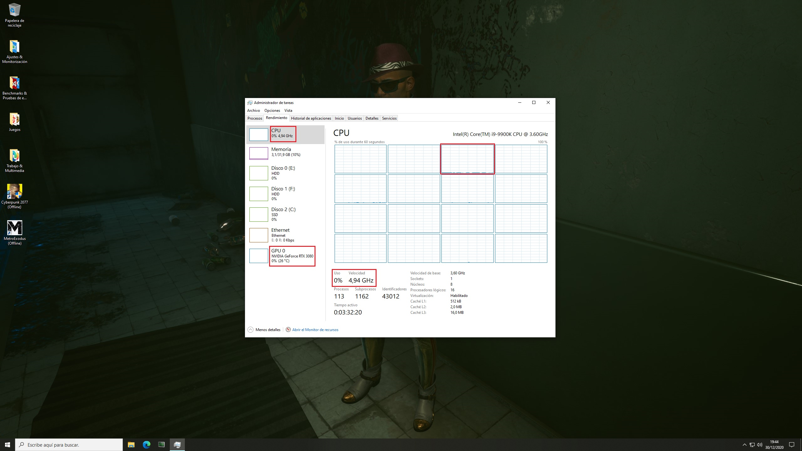 PC Game Launchers Efficiency – Bethesda.net Launcher on idle state – Windows 10 Task Manager Performance Tab